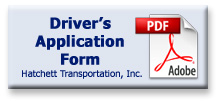 Driver's Application Form